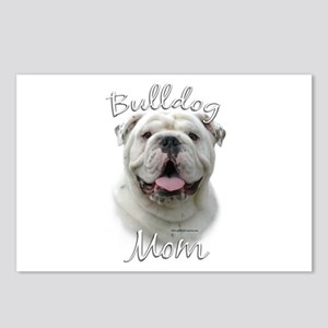 Bulldog Mom2 Postcards (Package of 8)