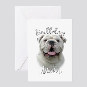 Bulldog Mom2 Greeting Card