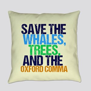Oxford Comma Everyday Pillow