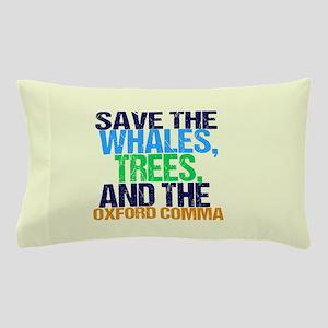 Oxford Comma Pillow Case