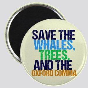 Oxford Comma Humor Magnet