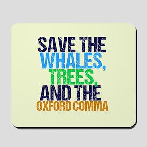 Oxford Comma Mousepad