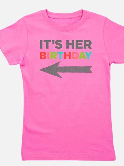 Cute Birthday Girl's Tee