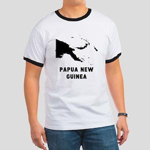 Papua New Guinea Silhouette T-Shirt