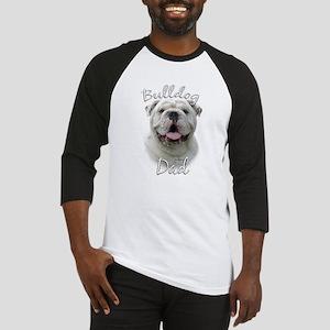 Bulldog Dad2 Baseball Jersey