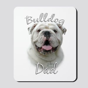 Bulldog Dad2 Mousepad
