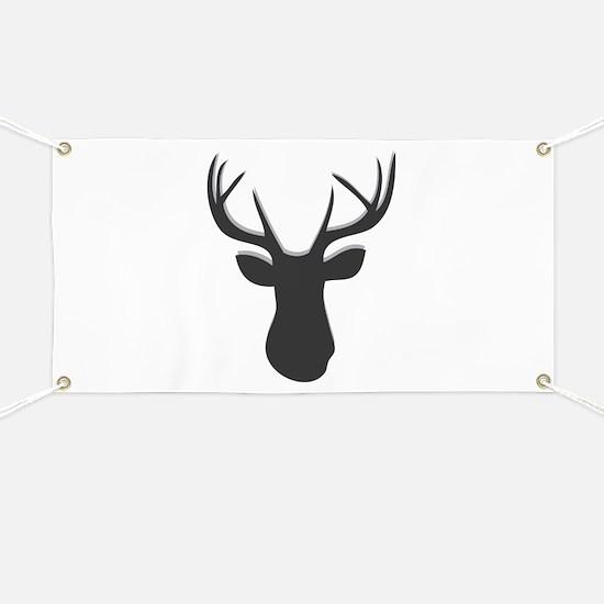 Deer Head Banner