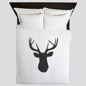 Deer Head Queen Duvet