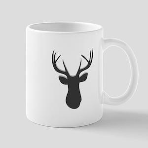 Deer Head Mugs