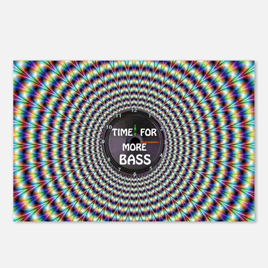 Time for more bass Postcards (Package of 8)