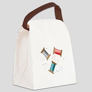 Thread & Pins Canvas Lunch Bag