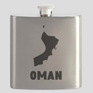 Oman Silhouette Flask