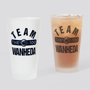 Team Wanheda The 100 Drinking Glass