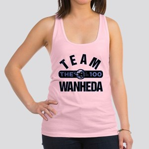 Team Wanheda The 100 Racerback Tank Top