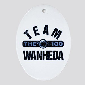 Team Wanheda The 100 Oval Ornament
