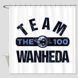 Team Wanheda The 100 Shower Curtain
