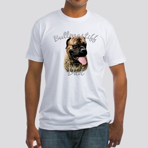 Bullmastiff Dad2 Fitted T-Shirt