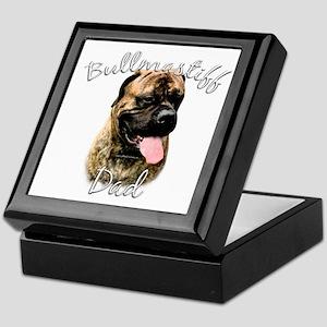 Bullmastiff Dad2 Keepsake Box