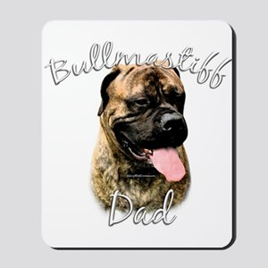Bullmastiff Dad2 Mousepad