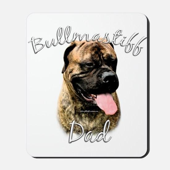 Bullmastiff Dad2 Mousepad
