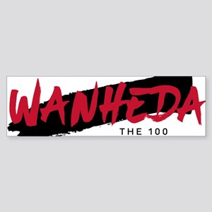 The 100 Wanheda Bumper Sticker