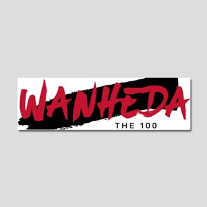 The 100 Wanheda Car Magnet 10 x 3
