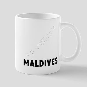 Maldives Silhouette Mugs