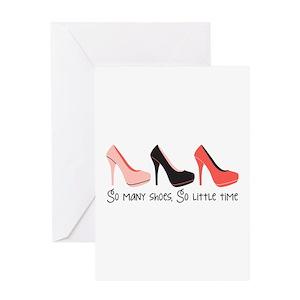 High heel greeting cards cafepress m4hsunfo