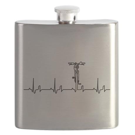 Bike Heartbeat Flask