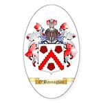 O'Bannaghan Sticker (Oval 50 pk)