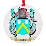 Oates 2 Round Ornament