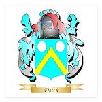 Oates 2 Square Car Magnet 3
