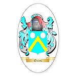 Oates 2 Sticker (Oval)