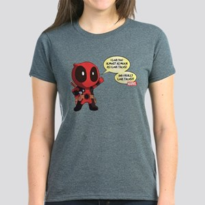 Deadpool Love Tacos Women's Dark T-Shirt