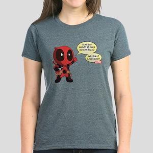 Deadpool Love Tacos Women's Dark T-Shirt