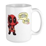 Deadpool Large Mugs (15 oz)