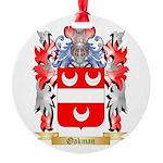 Oakman Round Ornament