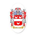 Oakman Oval Car Magnet