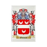 Oakman Rectangle Magnet (100 pack)