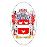 Oakman Sticker (Oval 10 pk)