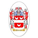 Oakman Sticker (Oval 50 pk)