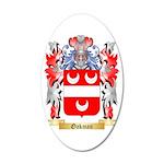 Oakman 35x21 Oval Wall Decal