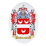 Oakman Oval Ornament