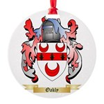 Oakly Round Ornament