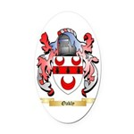 Oakly Oval Car Magnet