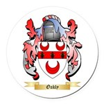 Oakly Round Car Magnet