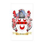 Oakly Sticker (Rectangle 10 pk)