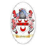 Oakly Sticker (Oval 50 pk)