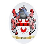 Oakly Oval Ornament