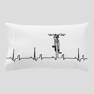Bike Heartbeat Pillow Case